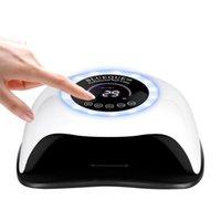 Portátil 168W Nail Lâmpada UV Gel Vernish Secador LED Máquina de Poterapia Secadores de secagem rápida