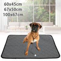 Kennels & Pens Dog Pee Pad Blanket Waterproof Washable Pet Diaper Anti-slip Repeated Water Absorbing Urine Bed Mat Puppy Training Pads