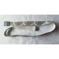 Belt for sweatshirts tracksuits Fabric making Stainless steel buckle polypropylene material belts 02