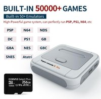 Super PSP PS1 N64 DC arcade game Console X Pro S905X HDMI WiFi Output Mini TV Video Game Player For Dual system Built-in 50000 Games