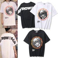 Travis Scott Cactus Jack Camiseta Festival Tee Rap Art Graffiti Hombres y mujeres Camiseta Astroworld Imprimir Tops High Street Fashion Tees