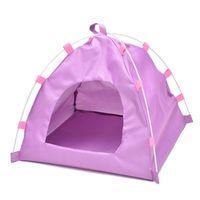 방수 옥스포드 접이식 애완 동물 텐트 하우스 개 고양이 매트 사육 침대 kennels 펜 2070 v2