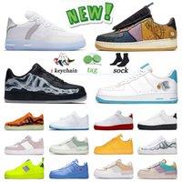 Kuvvetler 1 Dunks Düşük Hava Sporları Orijinal Sivilcilik Koşu Ayakkabıları Erkekler Dunk Bir Gölge Kapalı Kaktüs Jack Tepki Beyaz MCA Eğitmenler Tipi N.354 Kadın Sneakers Moma
