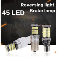 1156 T15 T15 T20 1157 LED Bulbs Car Motorcycle Light LED luce freno lampada BA15D BA15S P21W