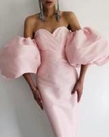 Платья Vero Shrly Sexy Off Flush Рукав Черный Розовый Bodycon Женщины Bandage Элегантная вечерняя вечеринка Vestido