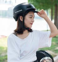 Cycling Helmets Urban Leisure Helmet Electric Car And Bicycle Hat Ultra-light Material Integrated Molding Skateboard
