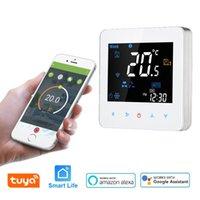 Trackers d'activité WiFi Smart Thermostat EU UK Componorisation Programmable Air conditionné Deux ou quatre tuyaux Alexa Google Control Control App Life