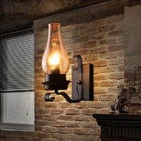 Wall Lamps Loft Retro E27 LED Sconce Lights For Bedroom Corridor Bar Aisle Restaurant Pub Cafe Lamp
