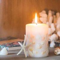 고품질 블록 촛불 공예 홈 향수 쉘 원통형 낭만적 인 velas 그란들 정원 EF50SC 양초