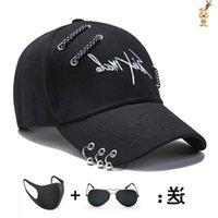 공 모자 어두운 멋진 야구 태양 모자 남자 모자 유행 여름에 힙합 힙합