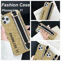 Bracciale tessile Iphone 12 Pro Max Cases Moda con designer di marca di lusso Bella cassa del telefono FORPHONE 11 12PRO 11XS XSMAX XR 8PLUS 8 7Plus Grossista