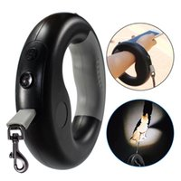Degree Rotation One Handed Retractable Dog Leash Outdoor Wal...