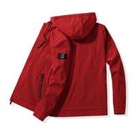 Giacche da uomo 8xL 7xL 6xL giacca di qualità giacca da esterno a vento da esterno in bicicletta sport alpinismo cappotto impermeabile cappotto con cappuccio