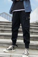 Woodvoice Грузовые брюки Мужчины 2021 Осенние Моды Брюки Мужской Зимний Повседневная Жажгер Улица Тактический Хиппер Мужские Мужские