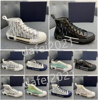 Scarpe casual da uomo Donne Board Board Leather Shoe Trendy Flat Couples Couples Skateboard Trainers Letters Stampato Des Chaussures