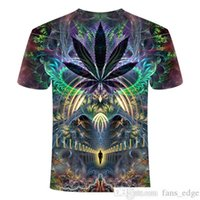 Yaz Yeni Erkek Adam T-Shirt 3D Baskı Renkli Galaxy Uzay Psychedelic Çiçek Bayan Adam Giyim / Erkek Adam Kısa Kollu T-Shirtsoccer Jersey