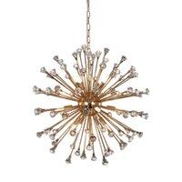 Post Modern Dandelion K9 Crystal Led Crystal Crystal Clustan Heatant Подвесные светильники Света для ресторана Спальня Спальня Магазин Одежда Отель Гостевой номер Шариковые люстры
