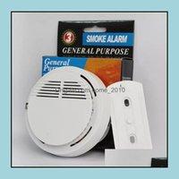 Inne elektroniczne pomiaru pomiaru Instrumenty do analizy Office School Business IndustrialSmoke Detektor Alarmy System Czujnik Ogień Alar