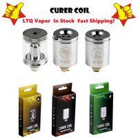 Authentic LTQ Vapor Curer Coil Dry Herb Concentrate Wax Oil Atomizer Core Replacement 0.4ohm 0.65ohm Vaporizer Head For Vaporizers Kit