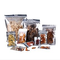 Plastic Aluminum Foil Resealable Zipper Packaging Bag Dry Food Storage Pouch Self Seal Smell Proof Bags