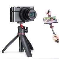 Ulanzi Evrensel Katlanabilir Mini Tripod 1/4 '' SLR SONY DSLR Kamera için Vida Kolu Kavrama Akıllı Telefon Aksesuarları Tripods
