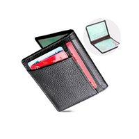 Wallets Fashion Casual Men's Wallet Men Multifunction Mini Driver's License Bag Vintage Male Short Purse