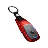 W256 W177 금속 원격 키 체인 자동차 인테리어 액세서리 스티커 제어 키 커버 TRIM 메르세데스 GLE CLA GLC A E S 300 180