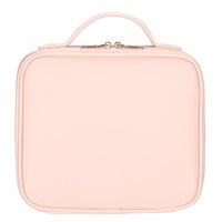 Professional cross Make up beautician Cosmetic Bag Travel bag Pink Makeup bag is perfect for home use or travel
