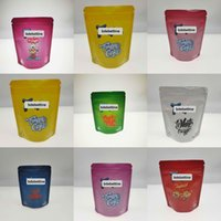Royal Trüffel behandelt Zitronenrosa Kuchenbeutel Einzelhandelspeicher 3,5g Verpackung 3.5 Gramm Soft Touch Skin Reißverschluss wiederverschließbare Taschen Jlltdl