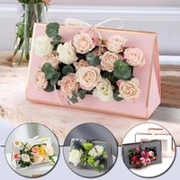 High Quality Portable Flower Box Large Florist Packaging Fol...