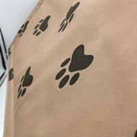 47 * 49 * 49см Pet Cat Bed House Складные съемные мягкие ноги напечатаны Pet Dog Cat Bed Wiple House Оптовая продажа 322 R2