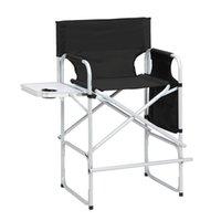 Camp Möbel Director Stuhl ohne Tragetaschen Faltbare Fußstütze Eingebaute Flaschenhalter mit Aufbewahrungstasche Gute Härte und Kraft