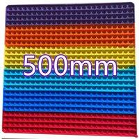 Nuovo Geometrico multi-dimensione 50 cm 40cn 30 cm Super Size Frettoy Decompressione Desktop Press Toy Toy Sollievo Adulti e giocattoli divertenti per bambini