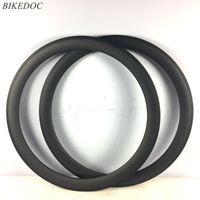 Rodas de bicicleta BikeDoc Full Carbon 700c * 25mm Road Rims