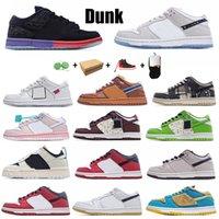 덩크 남자 여성 운동화 신발 낮은 chunky dunky syracuse 검은 화이트 UNC 법원 보라색 베니어 트레이너 야외 스포츠 레트로 스니커즈