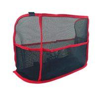 Car Organizer Extra Large Capacity Net Pocket Handbag Holder Between Seats -