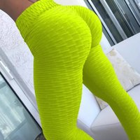 Brand Sport Leggings Donna Gym Gym Vita alta Push Up Yoga Pants Jacquard Fitness Legging Pantaloni da corsa Donna Tight Sport Pantsloccer Jersey