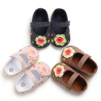 First Walkers Baby Shoes PU Leather Girls For Boot Moccasins Fashion Walks 0-18M