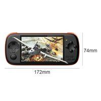 Portable Game Players 4.3-inch Handheld Console IPS Screen Video Retro HD 128-bit Simulator Arcade Player NES GBA