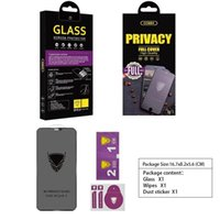Privacy protection film HD OG tempered glass for iphone 12 X Xs Max 11 Pro Max 6s 7 8 Plus XR screen protector