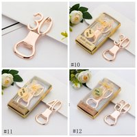 Digital Bottle Opener Alloy Beer Corkscrew Fashion Crown Shape Beer Bottle Openers With Diamond Wedding Party Gift 12styles BWD8680