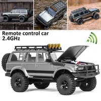 Remote Control Car Rochobby By Fms Rc 1:18 2.4G Land Cruiser 80 Waterproof Crawler Off Road Vehicle Toys