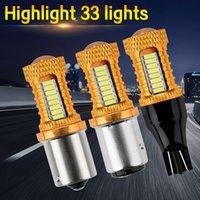 2 STÜCKE Automotive LED-Umkehrbeleuchtung S25 1156 1157 T15 T20 4014 32SMD-Blinker-Bremslicht