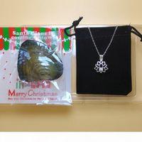 925 Sterling Silver Pearl Colar DIY Pérolas em Gaiolas de Medalhão Colares DIY Presente Para As Mulheres Moda Jóias Natal Gift Set