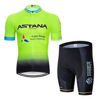 Летний с коротким рукавом Astana Team Brap / Велоспорт Костюм Велосипед
