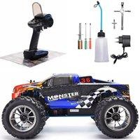 Zabawki dla dzieci Pilot Wyścigowy Prezent Nitro Szybkie Radio Controlled Off-Road Pojazd Four Wheel Truck Scale 1:10