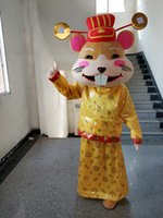 Mascot Costumes Mouse Mascot Costume Party Game Dress Outfit Advertising New Year Halloween Adult Character Outdoor Mascot
