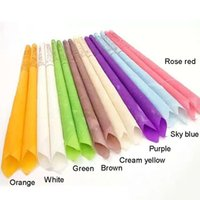 500pcs Indian Therapy Ear Candle Candling Natural Aromatherapy Beeswax Point Bell Mouth Straight Brain Care Candles Stick
