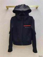 여성 자켓 Hoodids Terry Parkas 최고 품질의 레이디 코트가 거꾸로 된 삼각형 Bultge 겨울 두꺼운 코트 긴 소매 윈드 브레이커 스타일