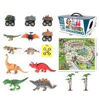 game Tyrannosaurus Rex model world Simulated carpet children's toy dinosaur 2620